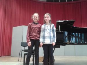 Laura Horn und Susa Schweizer