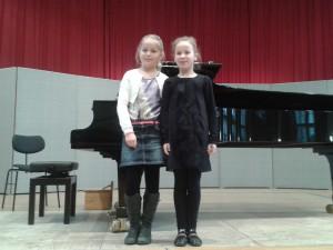 Alischa Schmidt und Nelli Koppányi