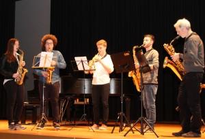Saxophon-Ensemble