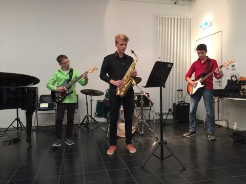 Björn Aheimer (als Gast), Nikolai Ruff, Christian Kowatschitsch